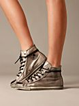 Silver Distressed Chucks
