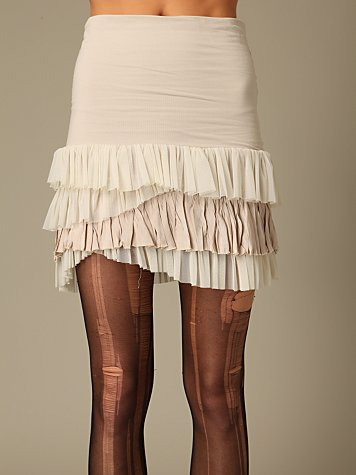 Ruffled Layers Skirt at Free People Clothing Boutique :  ruffled free people skirts tiered skirt
