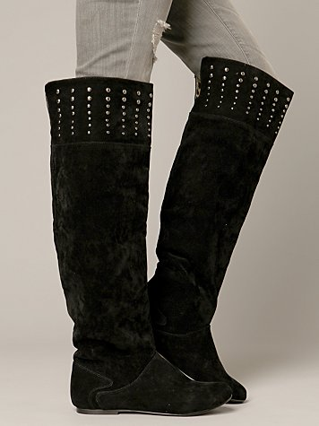 Bentley Over The Knee Boot