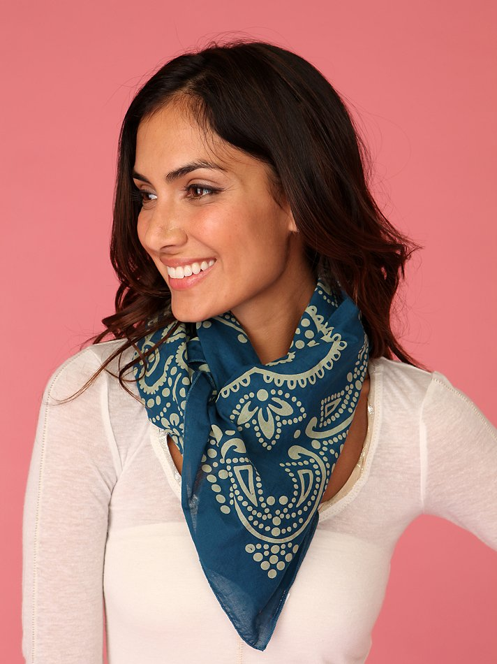 Hankerchief Vest Scarf at Free People Clothing Boutique from freepeople.com