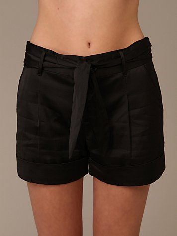 Habitual Teo Tie Shorts :  pleated shorts shorts dress shorts black shorts