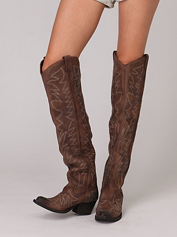 Belle Starr Over The Knee Boot at Free People Clothing Boutique from freepeople.com