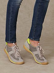 Reed Runner by Frye at Free People Clothing Boutique :  frye running shoes retro sneakers