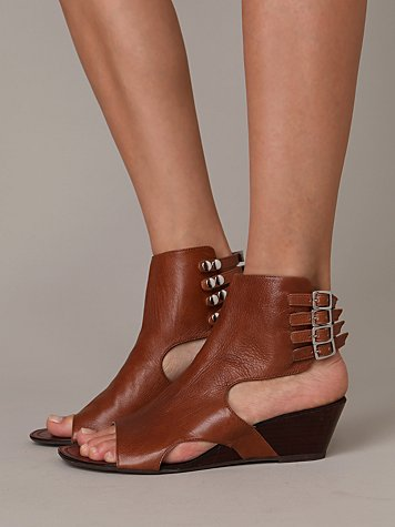 Ankle Cuff Wedge at Free People Clothing Boutique :  rounded toe bohemian warrior free people