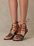 Lollipop Wrap Sandal