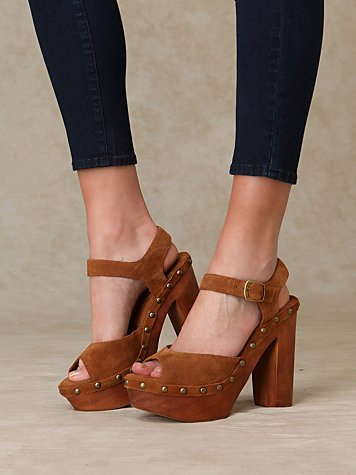Free People Splendid Wood Platform