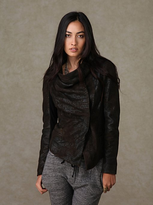 Graham & Spencer Leather Jacket