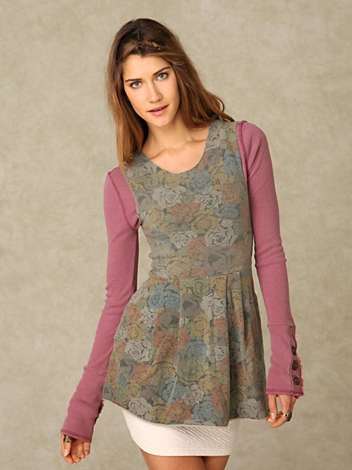 Seneca Rising Roses Dress