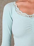 Lace Trim Thermal