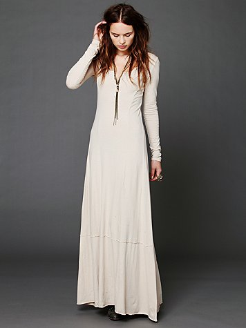 Miles of Henley Dress at Free People Clothing Boutique