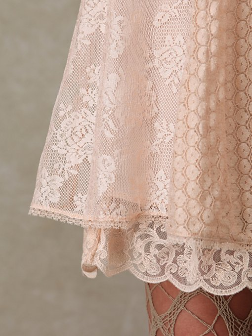 Loving Lace Trapeze Dress