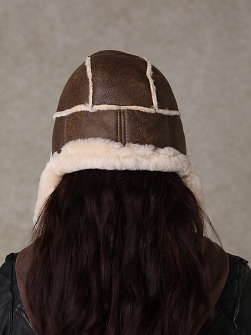 Leather Expedition Hat