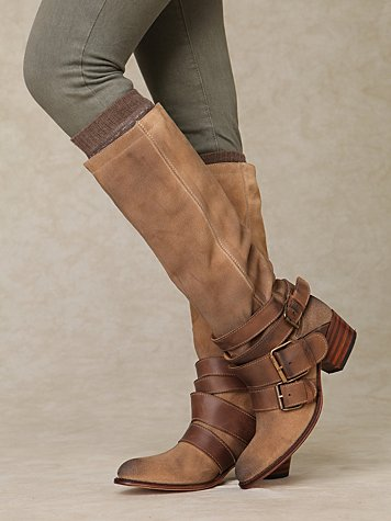 Leone Triple Buckle Boot