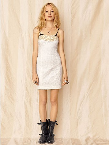 Snowy Garden Tube Dress at Free People Clothing Boutique :  designer dress strapless dress prom dress tube clothing