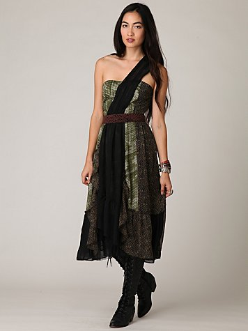 Festival One Shoulder Dress
