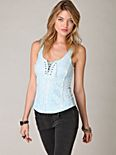 Sparrow Crochet Corset Top