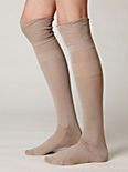 Cinched Knee Sock