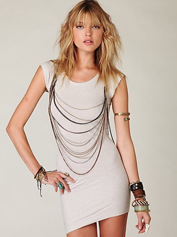 Mixed Metal Vest