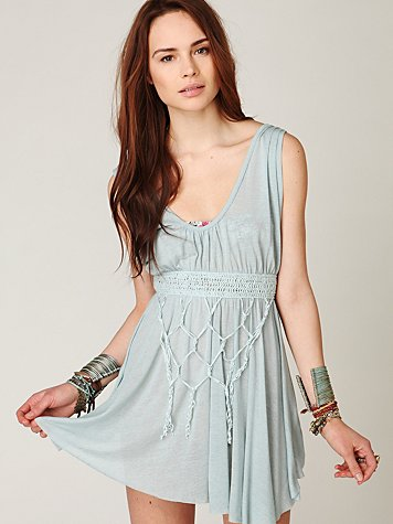 FP New Romantics Distant Shores Sleeveless Tunic