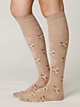 Faded Bouquet Knee Sock