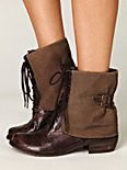 Trench Lace Up Boot