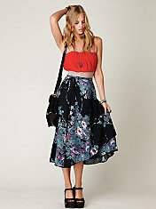 Spin Me Wrap Skirt