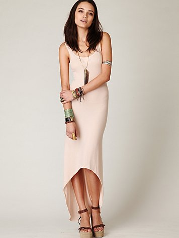 Easy Hi Low Tank Dress