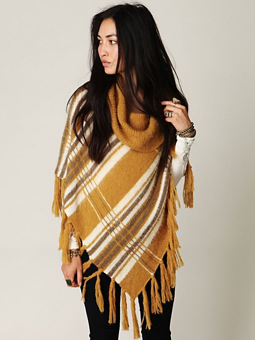 Isle of the Sky Poncho