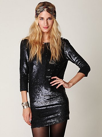 Blackheart Sequin Dress