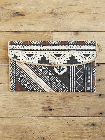 Free People - Vintage Tribal Bag :  clutch free people purse accessories