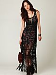 Birkin Fringe Maxi Dress