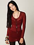 Dancing in the Dark Lace Tunic