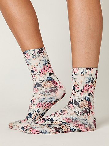 Free People Bouquet Ankle Sock