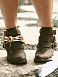 Buckle Back Ankle Boot