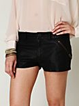 FP Vegan Leather Shorts