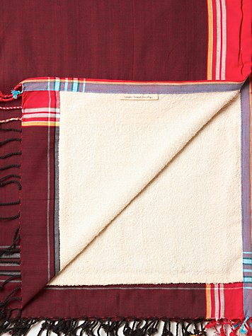 Nomadic Thread Society Terry Cloth Lined Towels
