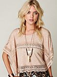 Intersections in Lace Tee