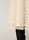 Tea Length Crochet Skirt