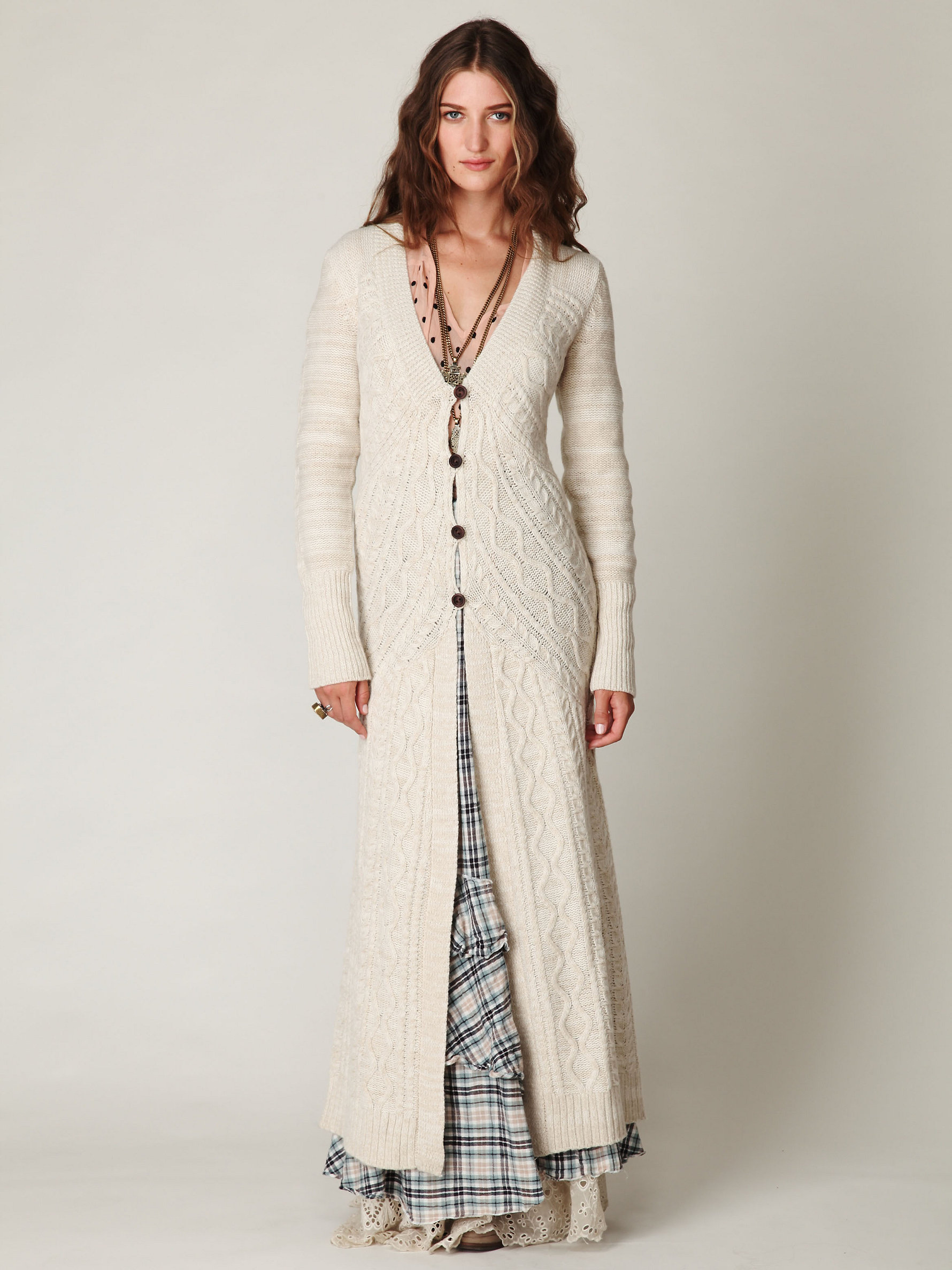 Cardigan Length - Cashmere Sweater England