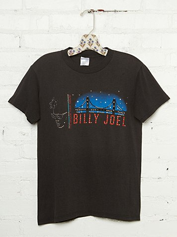 Free People Vintage Studded Billy Joel Tee