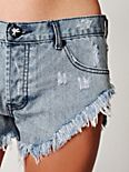 Denim Cutoff Short