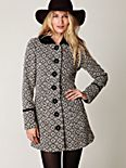 Retro Tapestry Coat