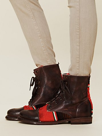 Bed Stu Hacienda Lace Up Boot