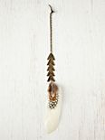 Arrow Feather Hair Clip