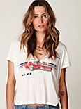 Henley Graphic Tee