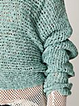 Speckle Ribbed Pullover