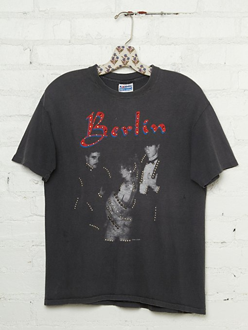Free People Vintage Studded Berlin Rock Tee in vintage-tees
