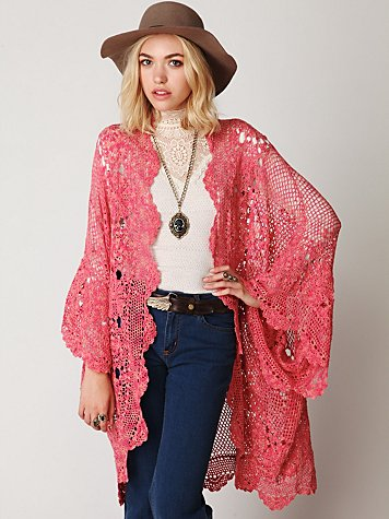 Amazing Crochet Bubble Cardigan