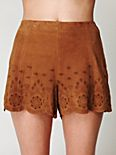 Suede Charade Short