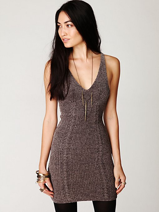 Chenille Bodycon Dress